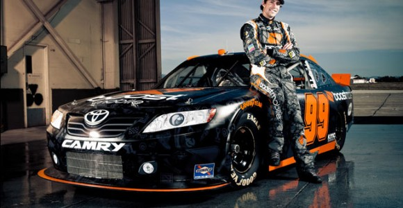 Travis Pastrana, Driver of Boost Mobile #99 in the NASCAR Nationwide series.