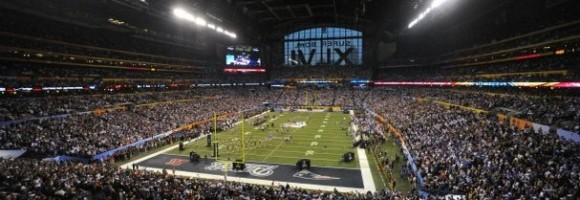 Wifi active Lucas Oil Stadium during Super Bowl XLVI.