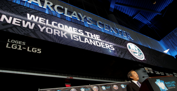 The Islanders are moveing to Brooklyn.