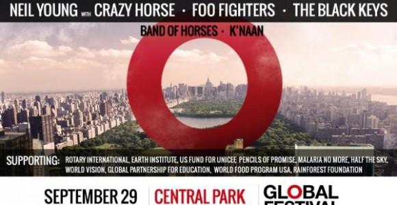 Global Citizen Festival: A free ticketed music festival to help end extreme poverty