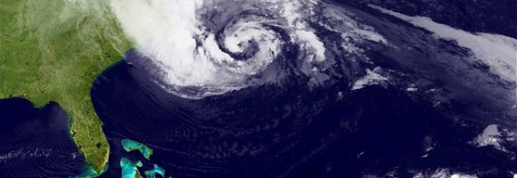 Photo of Hurricane Sandy