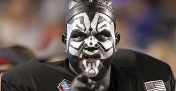 Oakland Raiders fans accounted for 2400 of the 7000 stadium ejections last season.