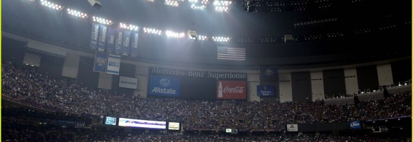 Power outage during Super Bowl XLVII game on February 3, 2013