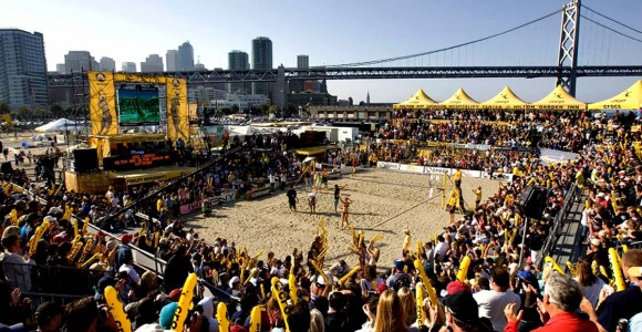 The AVP is relaunching itself with five tour spots this year.