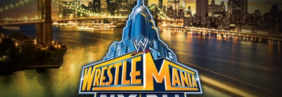 29th annual WrestleMania is hosted at the MetLife Stadium in New Jersey.