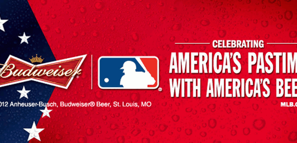 Anheuser-Busch is the offical beer sponsor for the MLB
