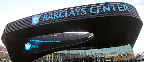 Barclays Cener, Brooklyn, New York