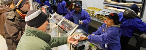 Aramark has installed new point-of-sale systems in Soldier Field.