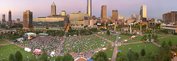 Atlanta's Centennial Olympic Park planning for future profits.