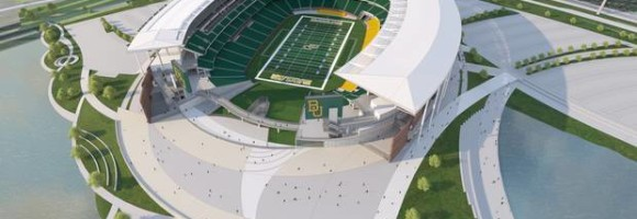 Baylor University's New Stadium