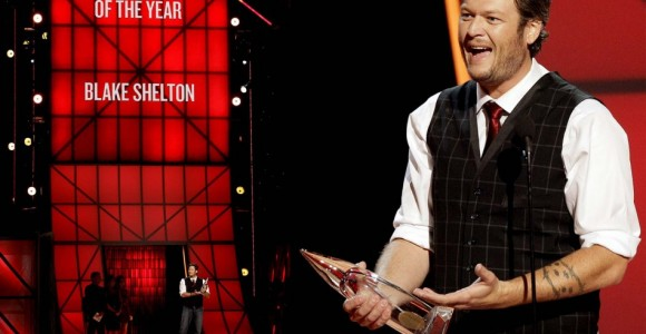 Blake Shelton at the 2012 Country Music Awards
