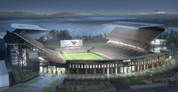 """Washington Huskies Stadium adds Wi-Fi during renovations."""