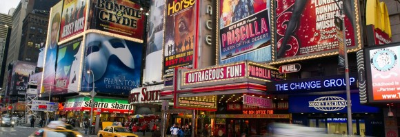 Broadway saw an 8 percent decrease in attendance for summer 2013.