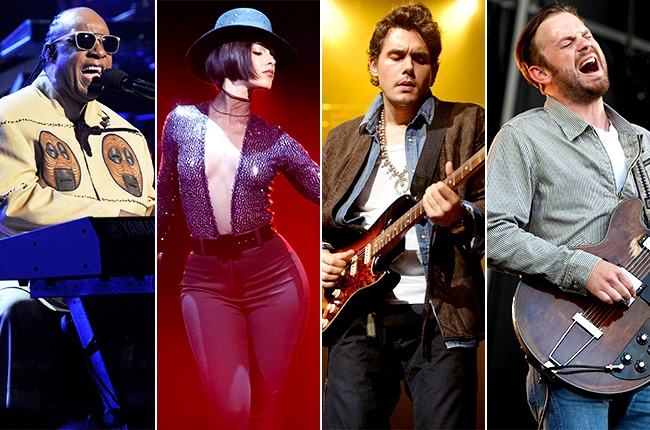 Performances at the Global Citizen Festival included Stevie Wonder, Alicia Keys, John Mayer and Kings of Leon.
