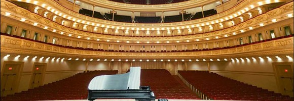 The show goes on at Carnegie Hall.