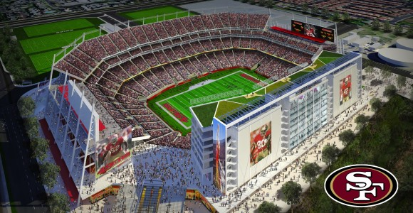 The new Stadium will be finished in August of 2014