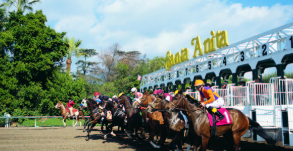 Santa Anita park recently went under a $15 million renovation.