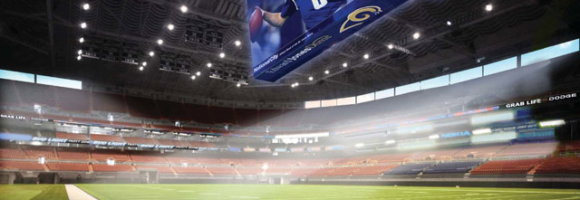 Picture of Saint Louis Rams rejected stadium proposal